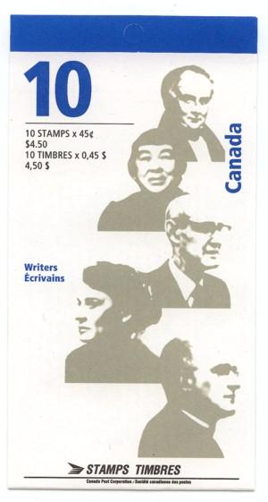 Canada - 1996 Authors Booklet complete mint #BK195b
