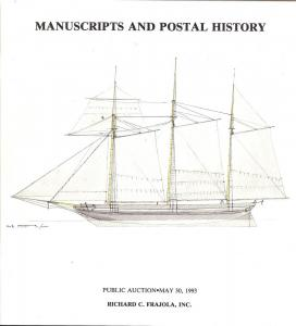 Frajola: Sale # 52  -  Manuscripts and Postal History, Fr...
