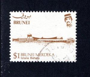 Brunei, Scott 309   VF,  Used, CV $2.75 .....0980095