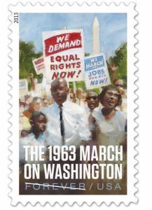 4804 The 1963 March On Washington US Single Mint/nh (Free Shipping)