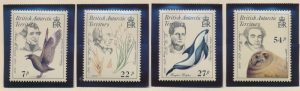 British Antarctic Territory (B.A.T.) Stamp Scott #125, Mint Never Hinged - Fr...