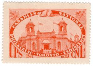 (I.B) Canada Cinderella : National Philatelic Exhibition (1937)