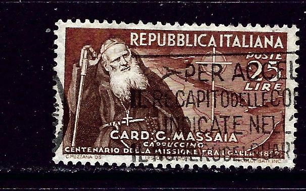 Italy 612 Used 1952 issue