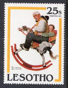 Lesotho 348 Norman Rockwell MNH VF