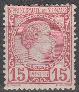 Monaco #5 F-VF Unused CV $350.00 (C6351)