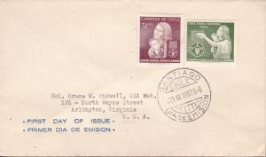 United Nations Food & Agricultural Org. 1963. CHILE Reg Issue + Airmail FDC