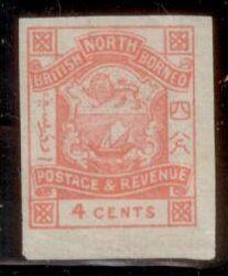 North Borneo 1889 SC# 39 MNH-OG  L394
