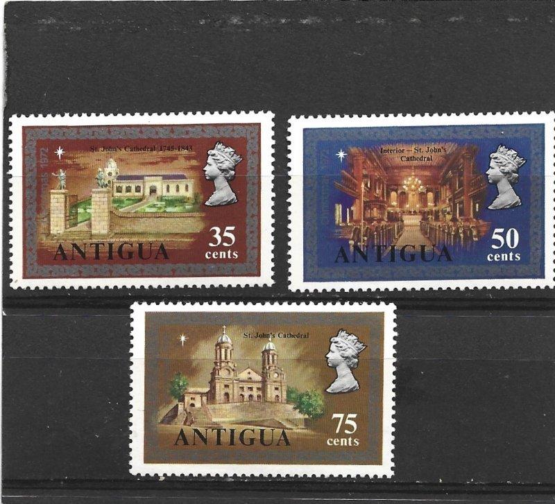 Antigua 1972 Christmas Set MLH