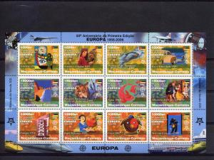 Mozambique 2006 Europa 50th.Anniversary CEPT Sheetlet (12) Perforated MNH