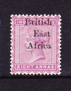 BRITISH EAST AFRICA  1895-96  8a  QV  MLH   SG 57
