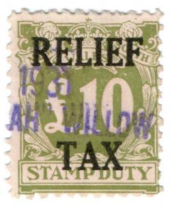 (I.B) Australia - NSW Revenue : Relief Tax £10