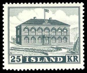 ICELAND-b-Post 1904 ISSUES (67 on) 273  Mint (ID # 78147)