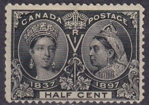 Canada #50  Unused CV $110.00 (Z3596)