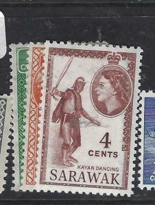 SARAWAK  (P2704B)  QEII   SG 190-2   MOG