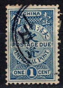China  #J8  F-VF Used CV $4.00 (X5592)