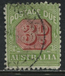 Australia 1936 3d Postage Due used