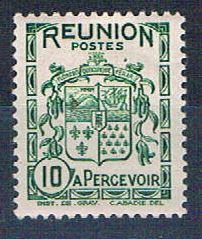 Reunion J17 MNH Arms of Reunion 1933 (R0474)+