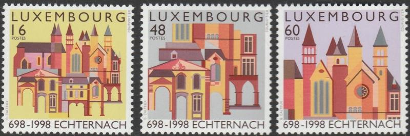 Luxembourg, #996-998 Unused From 1998