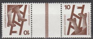 Germany #1075d MNH Tete-Beche   (S2527)