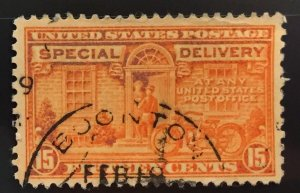 US #E16 Used F/VF - Special Delivery 15c