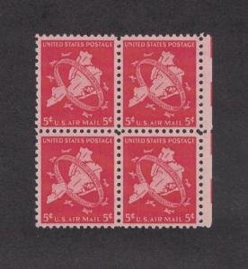 Scott C38 - Airmail. MNH. OG. Block Of 4.  #02 C38B4