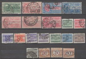 COLLECTION LOT # 4985 ITALY BOB 20 STAMPS 1870+ CV+$24 CLEARANCE