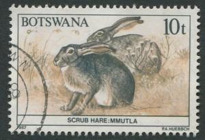 BOTSWANA 1987 - 10t USED