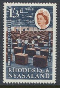 Rhodesia & Nyasaland SG 45 Sc# 186  MLH see details Tobacco Congress
