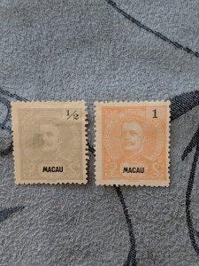 Macao 75a, 76a F-VFNG, CV $30