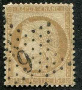 France SC# 61 Ceres 15c Used SCV $3.25