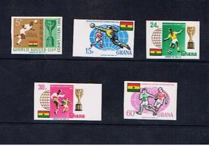 GHANA 1966 WORLD CUP IMPERF