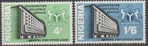 Nigeria #224-5  MNH F-VF  (SU1175)