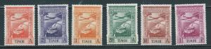 Timor C1-3, 6-7, 9 Airmails part set MLH