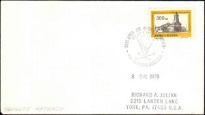 Argentina #39, Antarctic Cachet and/or Cancel