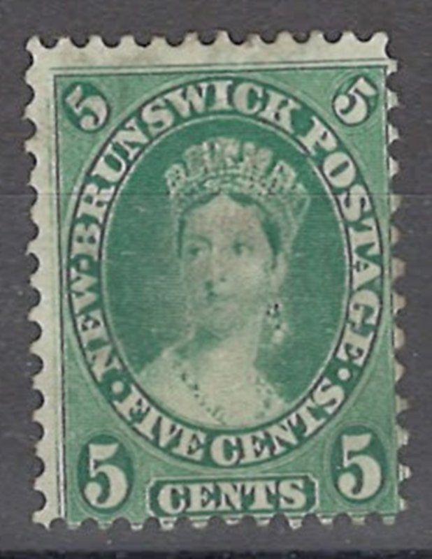 COLLECTION LOT OF # 1929 NEW BRUNSWICK #8 UNUSED NO GUM 1860 CV=$27.50