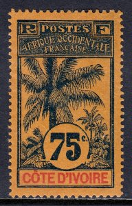 Ivory Coast - Scott #33 - MH - Minor gum loss - SCV $16