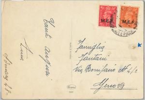 59536 - MEF British Middle East Forces - POSTAL HISTORY: POSTCARD from ERITREA