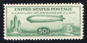 US#C18 - $ .50, Green - Graf Zeppelin - Mint - O.G. - N.H.