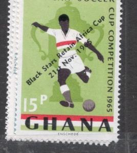 Ghana Football Soccer SC 244-6 MNH (6djr)