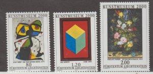 Liechtenstein Scott #1190-1191-1192 Stamps - Mint NH Set