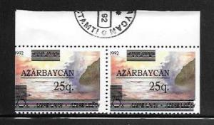 Azerbaijan #351 MNH Booklet Pair