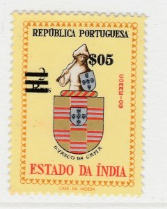 Portuguese India 1958 $0.5 on 2r MNG Stamp A20P35F2291