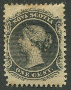 NOVA SCOTIA #8 MINT PERF VARIETY