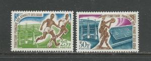 Afars & Issas Scott catalogue #315-316 Unused Hinged