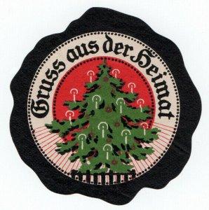 (I.B-CK) Germany (Great War) Cinderella : Propaganda Seal (Greetings from Home)
