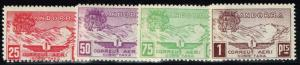 Andorra 1934 Local Air Stamps - Correau Aeri - Mint Light Hinged - Lot 110815