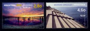 Croatia Sc# 996-7 MNH Tourism 2016