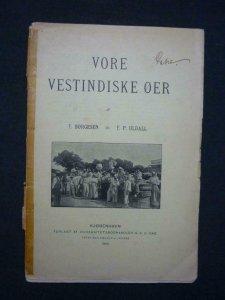 VORE VESTINDISKE OER by F BORGESEN & F P ULDALL