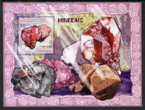 Mozambique MNH S/S Precious Minerals 2007