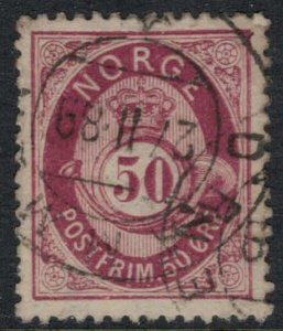 Norway #30  CV $12.50